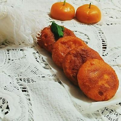 南瓜饼~甜香软糯