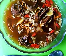 秋日食补—猪心汤的做法