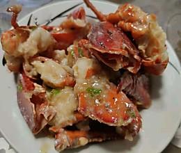 葱姜炒龙虾的做法