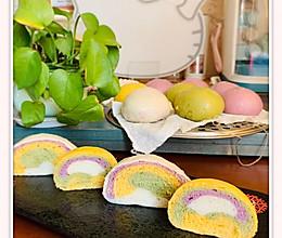 彩虹蔬菜馒头的做法