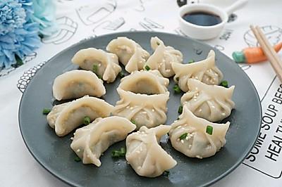 香菇猪肉韭菜煎饺