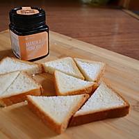 #北岛山谷蜂蜜#香脆蜂蜜烤面包的做法图解1
