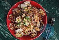 香辣味的蛤蜊粉丝煲【海鲜主题】的做法