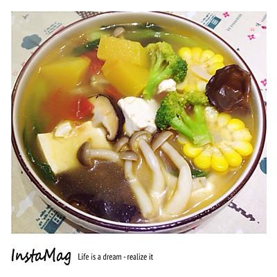 七彩营养蔬菜汤