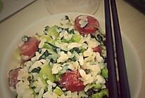 香肠菜饭的做法
