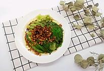 #节后清肠大作战#连蒜蓉都不会被放过的白灼生菜的做法
