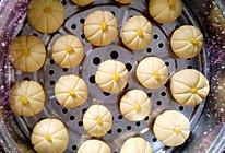 紫薯南瓜糯米做的小南瓜的做法