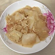 虾皮炒冬瓜