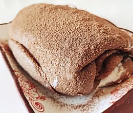 海盐奶油可可毛巾㊙️无糖无粉生酮网红甜品的做法