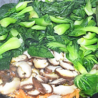 香菇青菜#金龙鱼外婆乡小榨菜籽油#的做法图解11