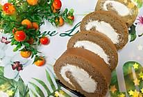 浓香绵软咖啡蛋糕卷的做法