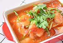 #美食视频挑战赛# 茄汁虾仁豆腐的做法