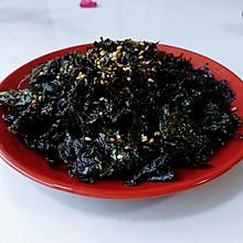 芝麻香油烤紫菜