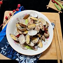 #晒出你的团圆大餐#炒辣蛤