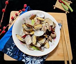 #晒出你的团圆大餐#炒辣蛤的做法