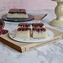 米露红豆凉糕