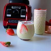 草莓坚果饮 带你玩转低脂健康生活
