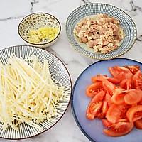 #网红美食我来做#番茄金针菇肥牛的做法图解2