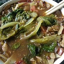 清新多蔬酸汤面片儿