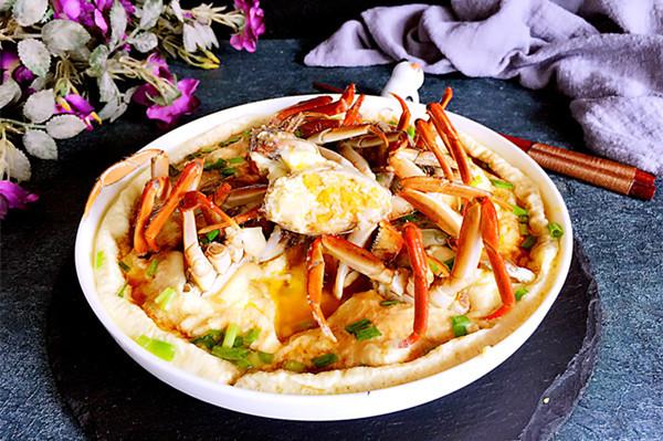 螃蟹炖蛋#京蟹世家#的做法