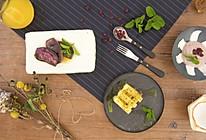 椰青芋泥、枫糖紫薯片、橙汁冬瓜条|美食台的做法