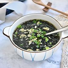 快手紫菜虾皮汤