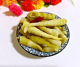 泡椒酸笋的做法