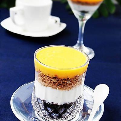 芒果乳酪杯&芒果布丁