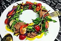 温暖沙拉Salad圣诞花环色拉-蜜桃爱营养师私厨-健身减肥的做法