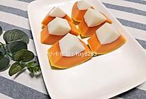 花胶(鱼胶)木瓜椰奶冻(不用吉利丁)的做法