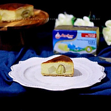 故食-红薯板栗杏仁重芝士蛋糕#安佳烘焙学院#