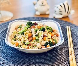 扬州炒饭的简易版#入秋滋补正当时#的做法