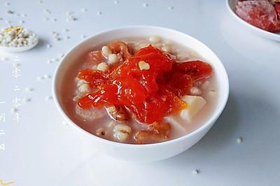 柿餅薏米山藥粥