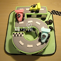 【***主题翻糖蛋糕】给男孩子的18岁成人礼蛋糕的做法图解30