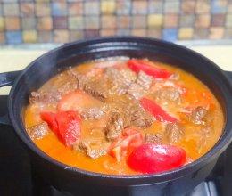 贴秋膘  牛肉爱上西红柿【西红柿炖牛肉】的做法