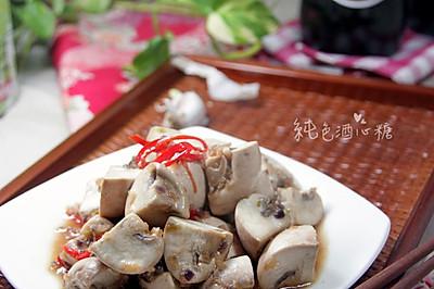 新厨娘的创新年夜菜—蒜香炒菇