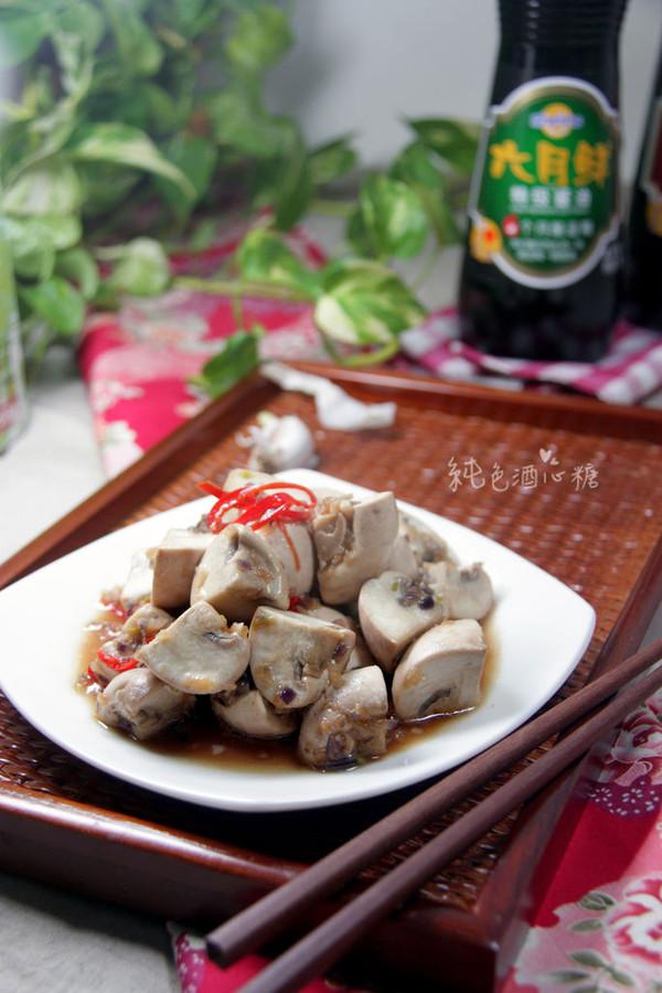 新厨娘的创新年夜菜—蒜香炒菇的做法