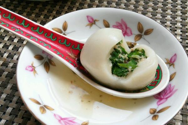 上海年夜饭必备齐财汤圆的做法