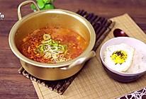 金枪鱼辣白菜汤的做法