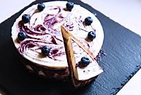 【酸奶蓝莓芝士蛋糕】的做法