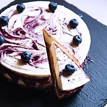 【酸奶蓝莓芝士蛋糕】