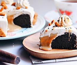 火爆ins的伯爵黑芝麻韩式凝乳蛋糕的做法