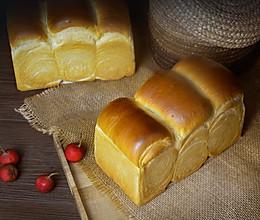 超级柔软的100%冷藏中种北海道吐司的做法