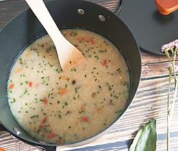 炒米粥的做法
