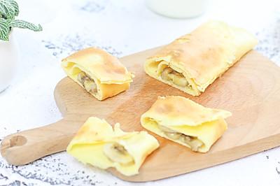 香蕉酸奶卷饼 宝宝辅食