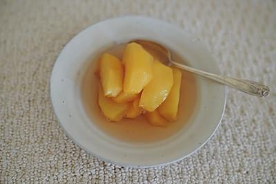 糖水黄桃 黄桃罐头
