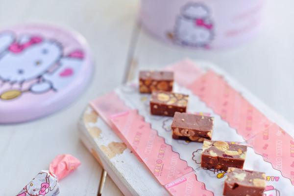快手巧克力牛轧糖的做法