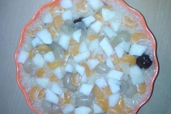 八宝水果饭的做法