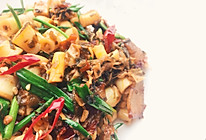 酸菜腊肉炒竹笋的做法