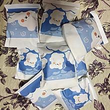 """#甜蜜暖冬,""""焙""""感幸福#圣诞双色曲奇饼干"""